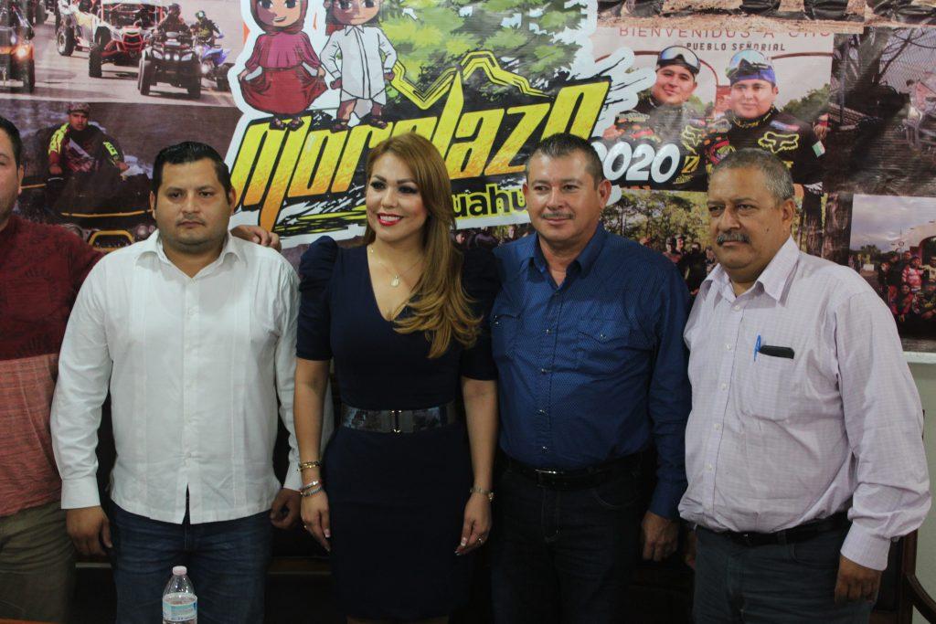 Los alcaldes de El Fuerte y Morelos